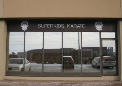 Front of Superkids Karate